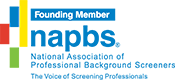 Founding member of the National Association of Professional Background Screeners